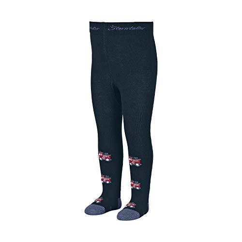 Sterntaler jongens panty brandweerchaussettes Montantes, Bleu, 116 Garçon kniekousen, blauw (Marine 300), One Size (fabrieksmaat