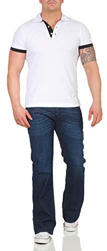 Diesel Herren Boot-Cut Stretch Jeans Zathan R845B dunkelblau (33/30)