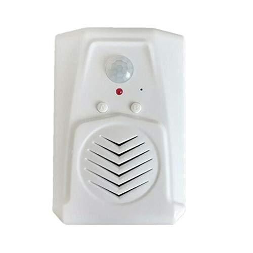 YSAYK Sensor De Movimiento Interruptor De Timbre De Puerta MP3 Timbre Infrarrojo Inalámbrico PIR Sensor De Movimiento Mensaje De Voz Timbre De Puerta De Bienvenida