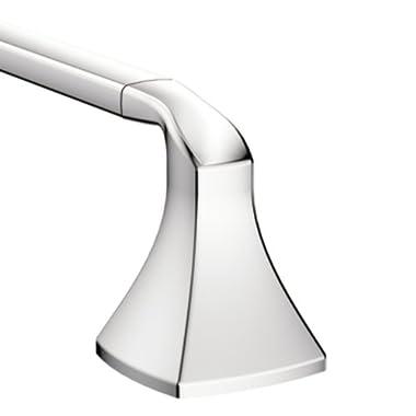 Moen YB5124CH Voss 24-Inch Bathroom Towel Bar, Chrome