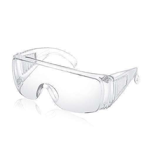 MZY1188 Occhiali di Protezione, Occhiali di Protezione UV, Occhiali Trasparenti Antipolvere, Occhiali da Lavoro, Occhiali antispruzzo Occhiali protettivi