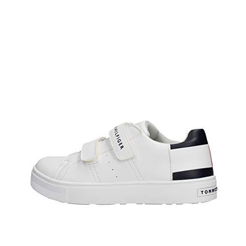 Tommy Hilfiger Sneaker Low 30719 Weiss Jungen - 33 EU