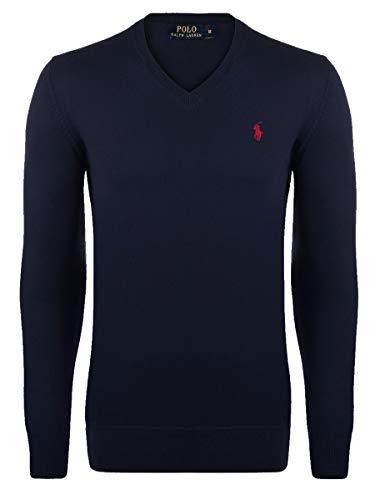 Ralph Lauren Herren Pullover (XL, Marineblau)