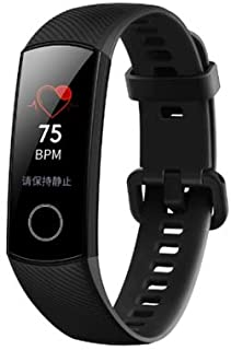 Huawei Honor Band 4 Smart Wristband Standard Version 0.95'' Color AMOLED Touchscreen 5ATM Detect Heart Rate Monitor Sleep ...