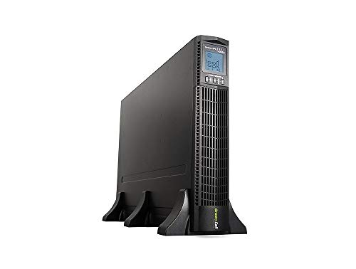 Green Cell PRO UPS USV Rack Mount Sistema de alimentación ininterrumpida 3000VA...