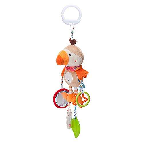Jingyuu Jouets Bébé Jouets Pendentif en forme Animal de bande dessinée Jou Carillons éoliens pour bébé Poussette Lit Home Décoration