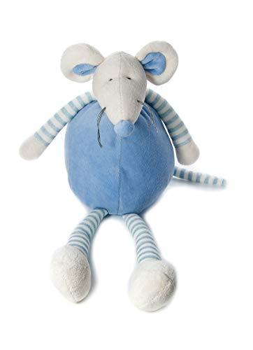 Mousehouse Gifts Pupazzi Topolino Peluche Colore Blu di 34 cm Giocattolo per Culla per Neonati o Bambine