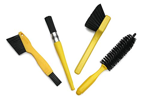Pedro's Pro Brush Bicycle Cleaning Kit (5-Piece)