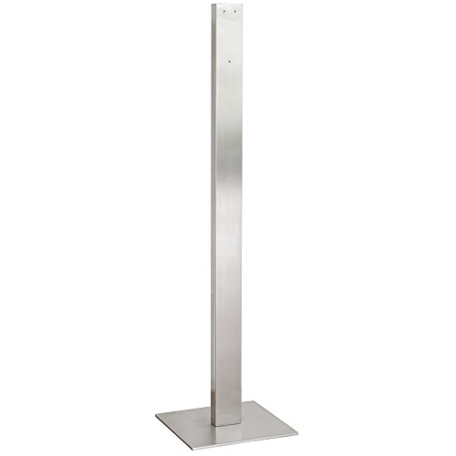 SANISMART Hygiene-Tower Universal Desinfektionsmittelsäule Edelstahl 150 cm