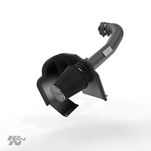 K&N Cold Air Intake Kit: High Performance, Guaranteed to Increase Horsepower: 2014-2020 Chevy/GMC/Cadillac (Silverado 1500, Suburban, Tahoe, Sierra 1500, Yukon, Yukon Denali, Escalade) V8, 71-3082