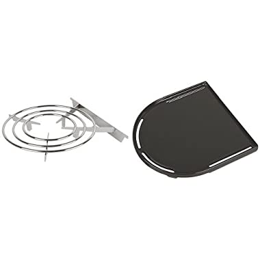Coleman Roadtrip Swaptop Stove Grate and Coleman RoadTrip Swaptop Cast Iron Griddle Bundle