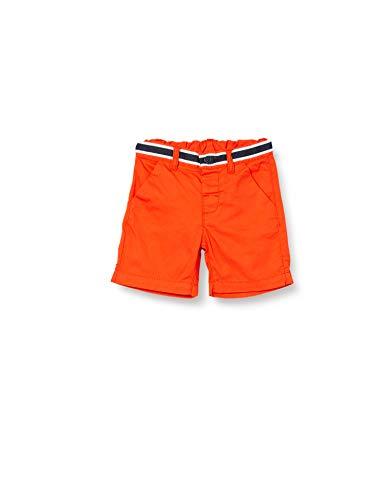 Brums Bermuda Gabardina con Nastro Rigato Pantaloncini, Arancione (Arancio Scuro 08 487), 98 (Taglia Unica: 3A) Bimbo