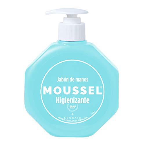 MOUSSEL Jabón de Manos Higienizante 300 ml - Pack de 6