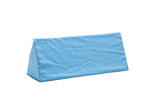 Hermell Products Inc. Body Aligner with Blue Cover Wedge Pillow for Sleeping, One Size