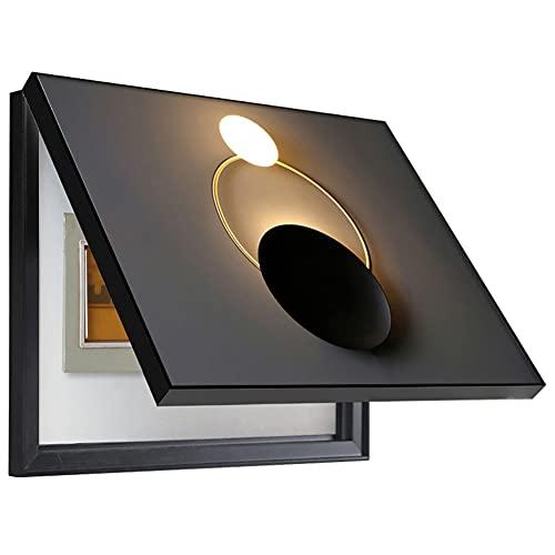 50 * 40cm Tapa Cuadro Electrico - Contador De Luz Cubre Cuadros Decorativos Modernos Caja Medidor Eléctrico Pintura Decorativa Vacía Colgante Desmontable Creativa Cubierta Simple Contadores,A