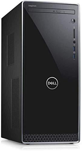 Dell Inspiron 3671 Desktop Computer_ Intel Hexa-Core i5-9400 (i7-7700HQ)_ 16GB DDR4 RAM_ 1TB PCIe SSD + 1TB HDD_ WiFi_ Bluetooth 4.0_ VGA_ HDMI_ Black_ Windows 10 Home_ BROAGE 64GB Flash Stylus