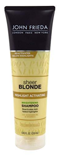John Frieda Shampoo Sheer Blonde Lighter Blondes 8.45 Ounce (249ml) (6 Pack)