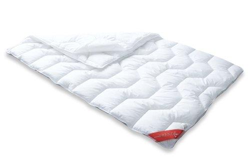 Badenia 03857240140 Bettcomfort 4-Jahreszeiten-Steppbett Trendline Basic kochfest, 135 x 200 cm weiß