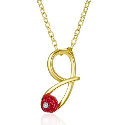 XIANGDONG Briefanhänger-Halskette, kreative Mode-Anhänger-Halskette, englische Retro-Briefhalskette, vergoldete Halskette, Unisex-Halskette