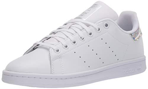 adidas Originals Kids' Stan Smith Sneaker, Footwear White/Footwear White/Core Black, 6.5