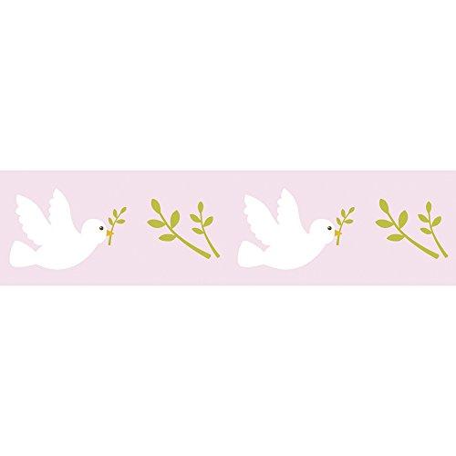 Tape Washi rose - colombe