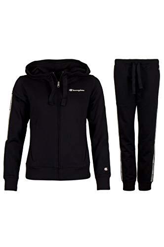CHAMPION Damen Trainingsanzug Schwarz XS