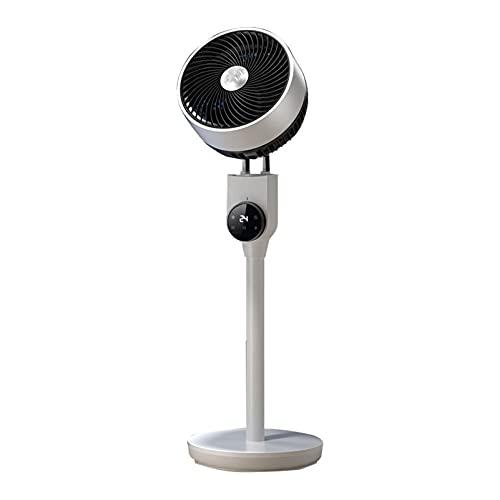ZXQC Ventilador De Circulación De Aire De Toda La Habitación W/Oscilación 3D, 3 Velocidades Fan De Pedestal De Enfriamiento, Susurro Silencioso para La Sala De Estar del Dormitorio