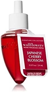 Bath & Body Works(バス&ボディワークス)ジャパニーズチェリーブロッサム ホームフレグランス レフィル(本体は別売りです)Japanese Cherry Blossom Wallflowers Refill Single Bottles [並行輸入品]