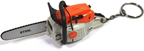 Stihl sleutelhanger kettingzaag 04209600003 motorzaag met geluid incl. batterijen