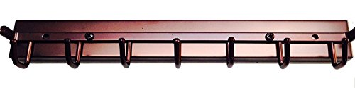 Touch to Open Deluxe Sliding Belt Rack, Oil Rubbed Bronze 14