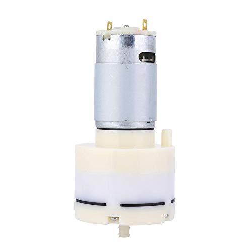 Luftpumpe Vakuumpumpe DC12V Dauerhafte Luftansaugpumpe 15L/min Größe für kleine Elektrogeräte Lange Lebensdauer für Luftkompressor und Laborpumpe