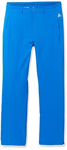 adidas Robuste Golfhose für Jungen, Jungen, Hosen, Solid Golf Pants, Glory Blue, Large