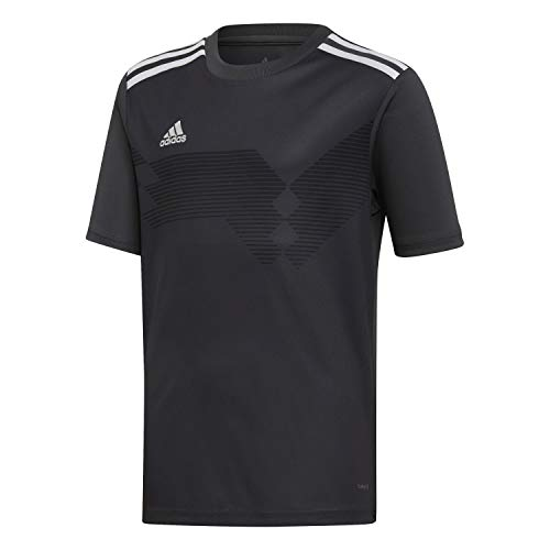 adidas Campeon 19 Jersey, Maglia Unisex Bambini, DGH Solid Grey/White, 164