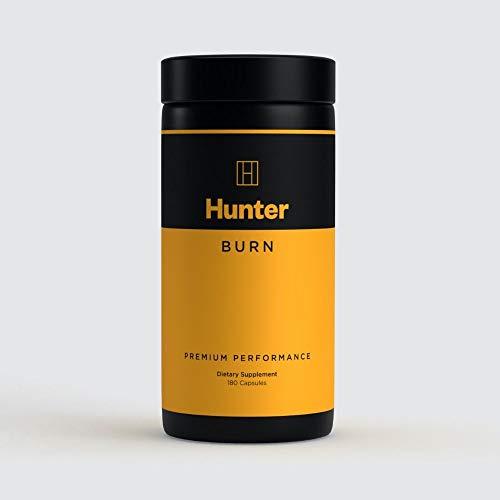 Hunter Burn- 180 Fat Burner Diet Pills - 100% Natural Ingredients - UK Made Premium Supplement