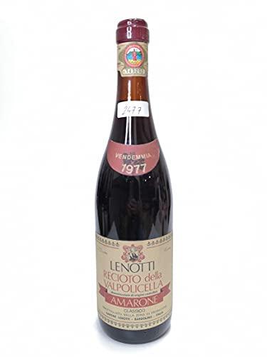 Vintage Bottle - Cantine Lenotti Recioto della Valpolicella Amarone Classico DOC 1977 0,75 lt. - COD. 2477