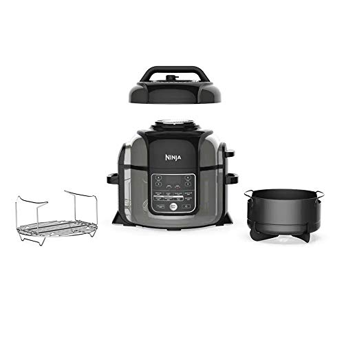 Ninja Foodi OP305 6.5 Quart TenderCrisp Pressure Cooker - Black/Gray