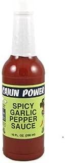 Cajun Power Spicy Garlic Pepper Sauce, 10 oz (Pack of 3)
