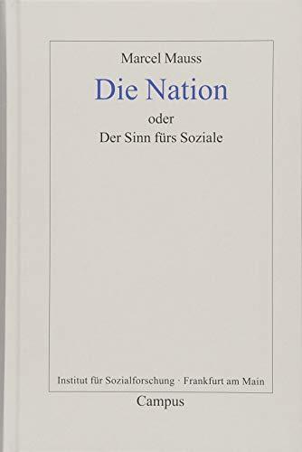 Die Nation oder Der Sinn fürs Soziale (Frankfurter Beiträge zur Soziologie und Sozialphilosophie)