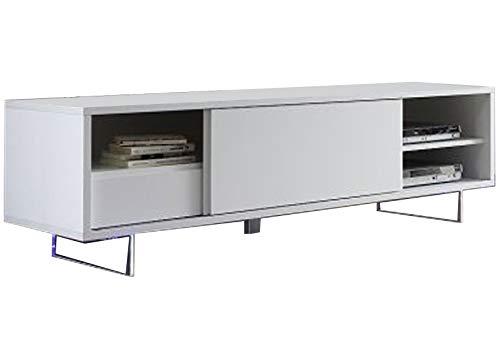 LIVNY - Licuadora para mesa (lacada), color blanco mate