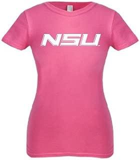 CollegeFanGear Norfolk State Next Level Girls Fuchsia Fashion Fit T Shirt 'NSU'