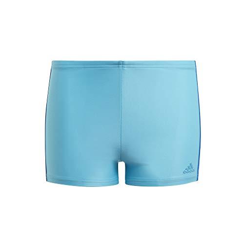 adidas Fit Bx 3s Y Boxer Swimwear Kinder, Jungen, Schwimm-Slips, GQ1061, Ciasen/Azurea, 152