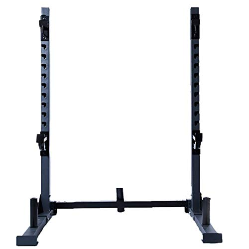 DAGCOT Fitness Bench Press Equipo de prensa Hogar y gimnasio Squat Rack Bench Press Men's Fitness Barbell Rack Multifuncional Estante ajustable Soporte para el hogar Gimnasio de interior Soporte de en