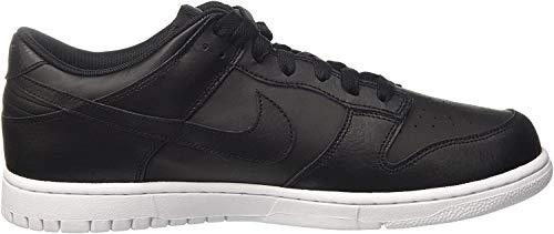 Nike Hombre Dunk Low Zapatos de Baloncesto, Negro (Black/black/white), 40