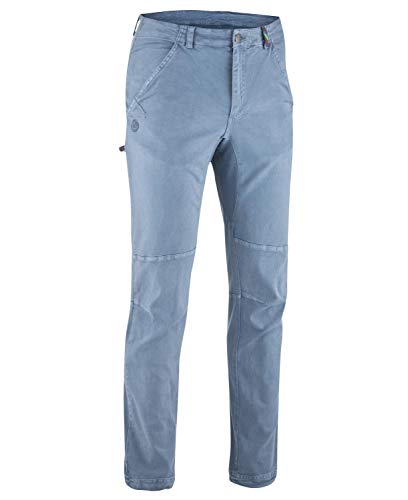 EDELRID Rope Pantalon Femme, Bleu Pierre, XL
