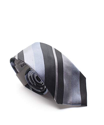 KENNETH COLE REACTION GREY STRIPE MENS NECK TIE