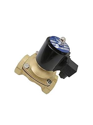 """2"""" inch 12V DC Brass Electric Solenoid Valve 12 Volt VDC by Carb Omar"""