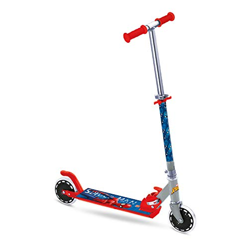 Mondo 18394 - The Ultimate Spider-Man ABEC 5 Alu-Scooter, Reifen-Durchmesser: 120 mm