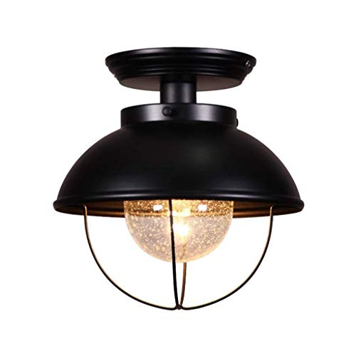 Solarl-A plafondlamp, retro-wind, industriële, balkon, plafond, veranda, hal, kledingkast, creatieve keukenlamp ter bescherming van de ogen