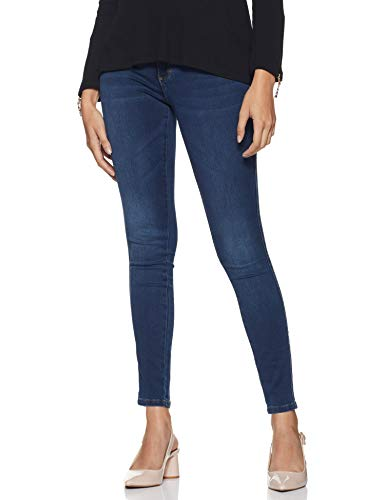 ONLY Damen ONLROYAL HW BB BJ13964 NOOS Skinny Jeans, Dark Blue Denim (15181725), 38/L30 (Herstellergröße: M)