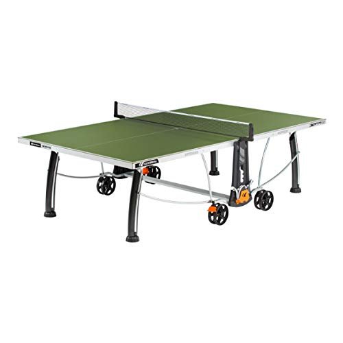 Cornilleau Sport 300s Crossover - Mesa de Tenis, Unisex Adulto, 133616, Verde, Talla...